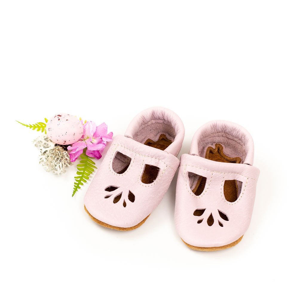 Bubblegum LOTUS T-strap Shoes Baby and Toddler