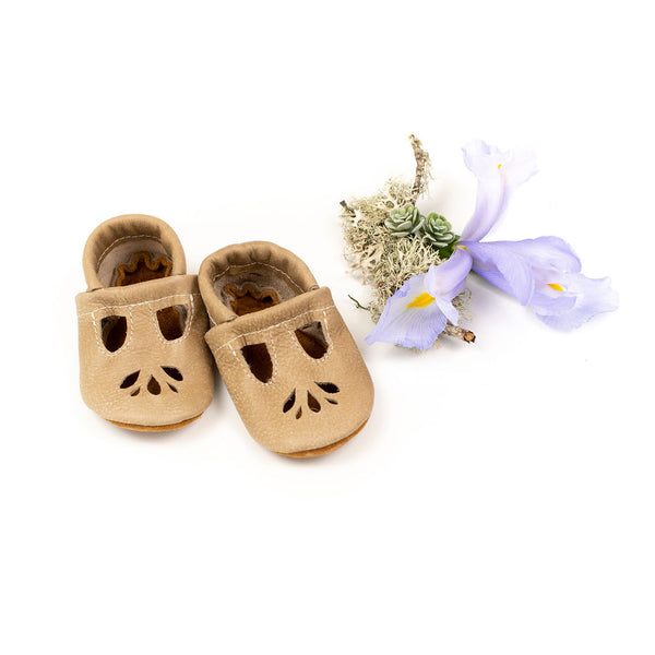 Sand dollar LOTUS T-strap Shoes Baby and Toddler