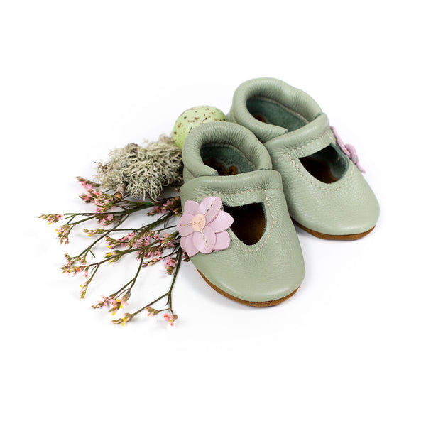 Tea Green LILY JANES Shoes Baby and Toddler