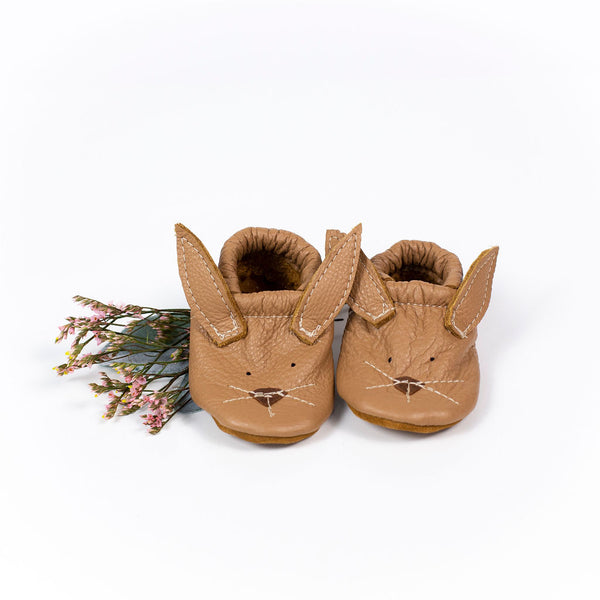 Oat Bunnies // Cute Critters Leather Shoes Baby and Toddler Bunny