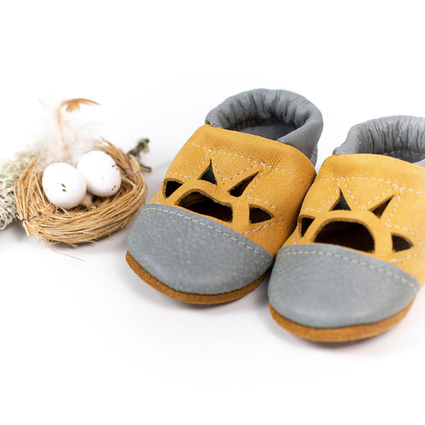 Turtle/Mango Two Tone SUNSET Shoes Baby and Toddler