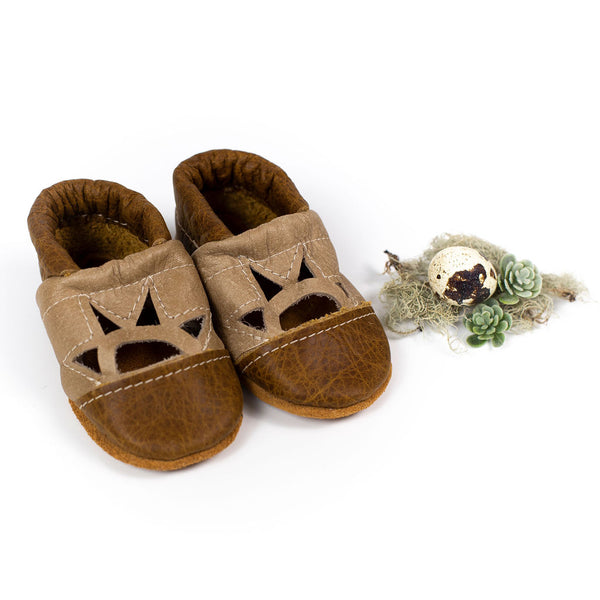 Ginger/ Barley Two Tone SUNSET Shoes Baby and Toddler