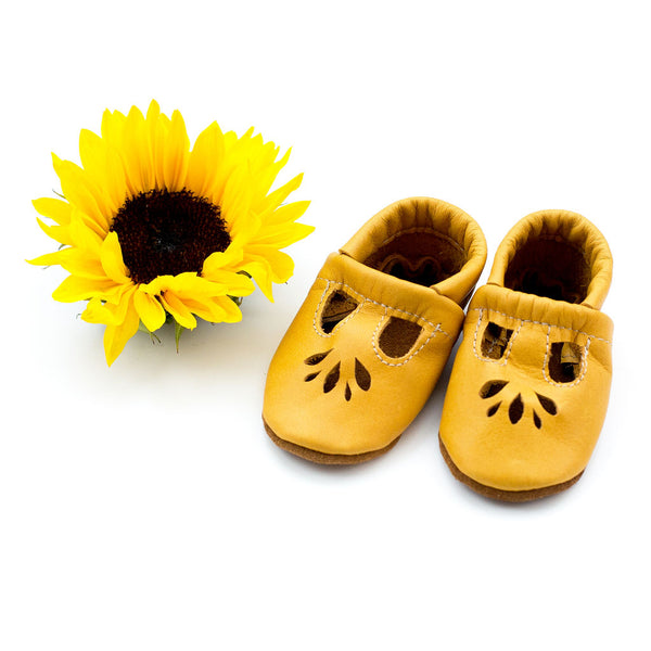 Sunflower LOTUS T-strap Shoes Baby and Toddler