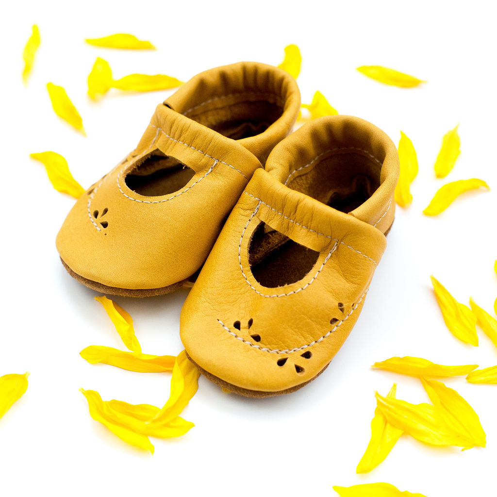 Sunflower Ivy Janes Shoes Baby and Toddler