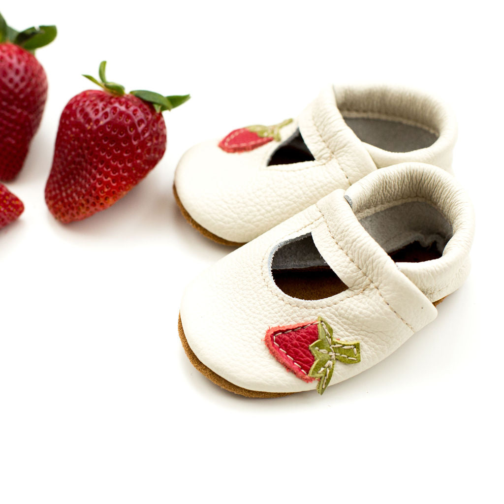 Strawberries Mary Janes Shoes Baby and Toddler