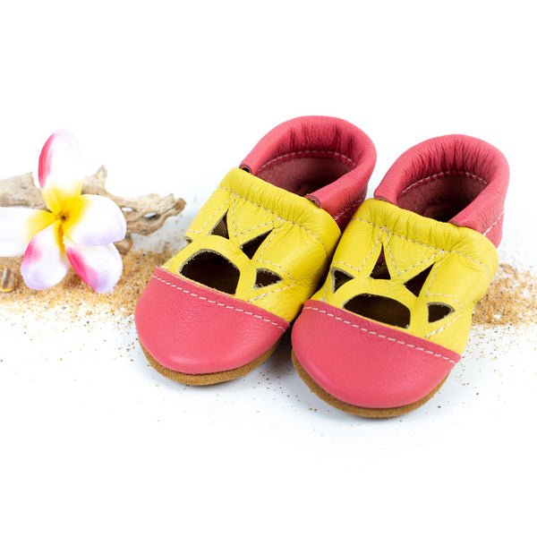 Punch/Pineapple Two Tone SUNSET Shoes Baby and Toddler