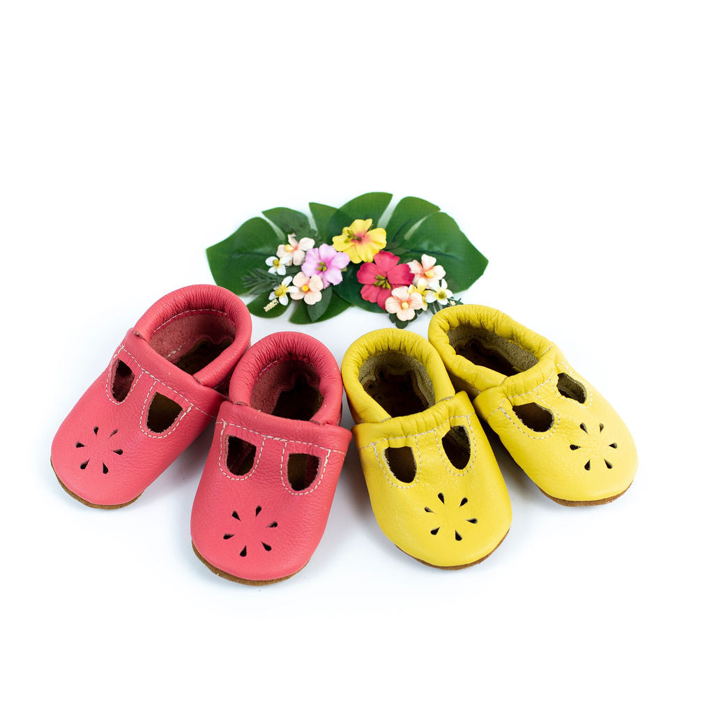 Punch & Pineapple T-strap Shoes Baby and Toddler