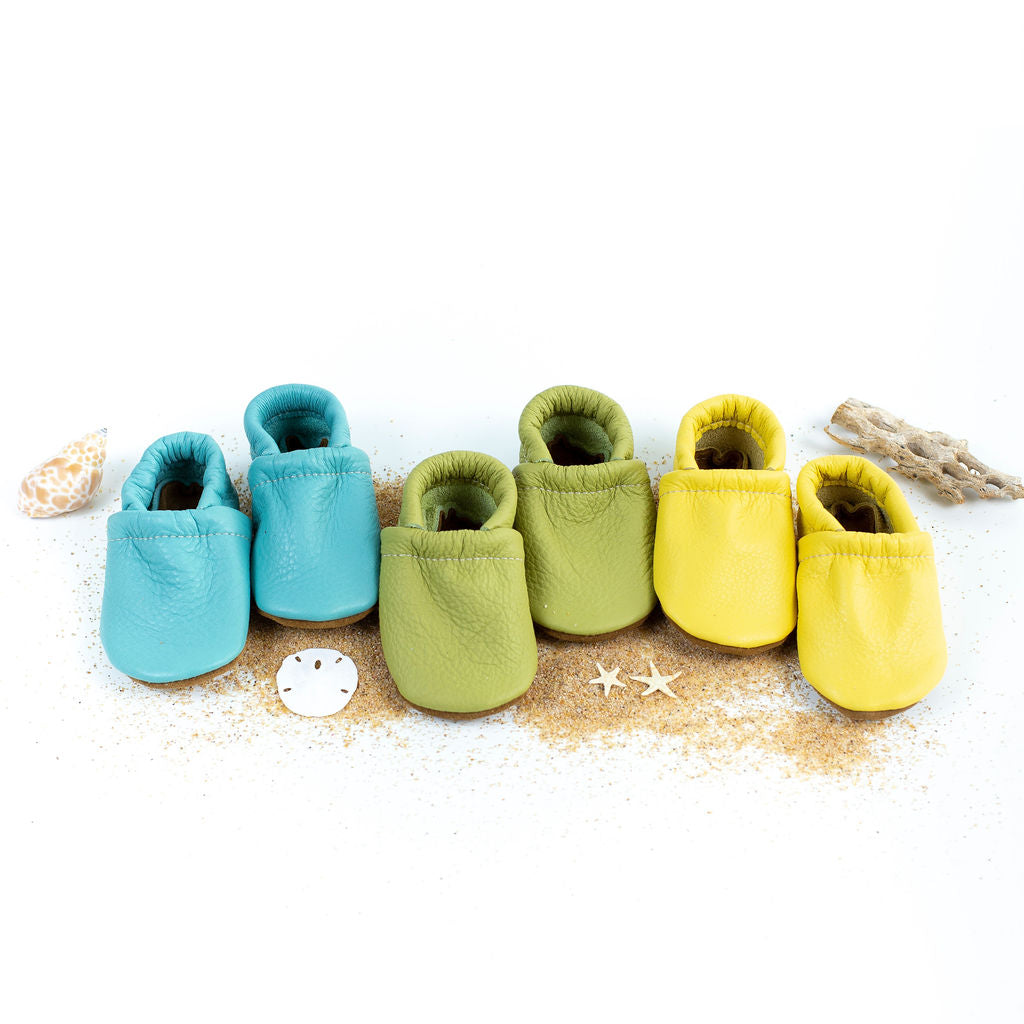 Aqua, Key lime, Pineapple Loafers Shoes Baby and Toddler