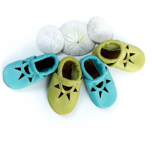 Aqua & Key lime SUNRISE Shoes Baby and Toddler
