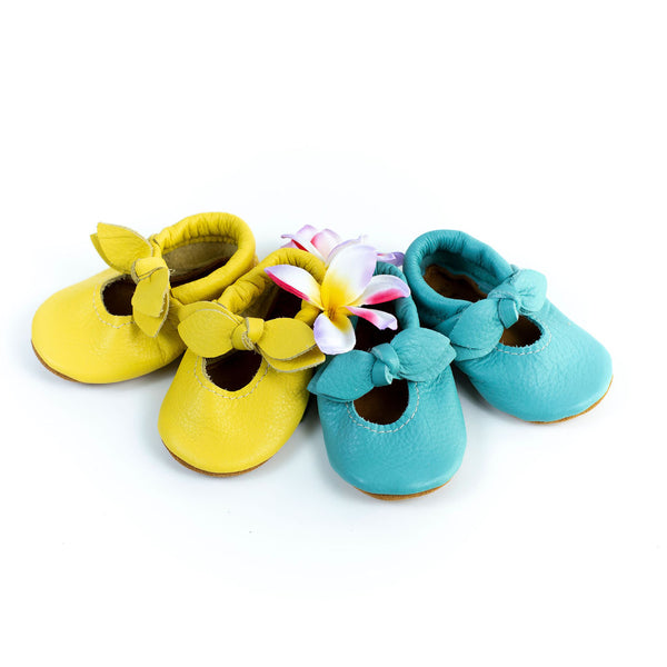 Pineapple & Aqua BELLA JANES Shoes Baby and Toddler