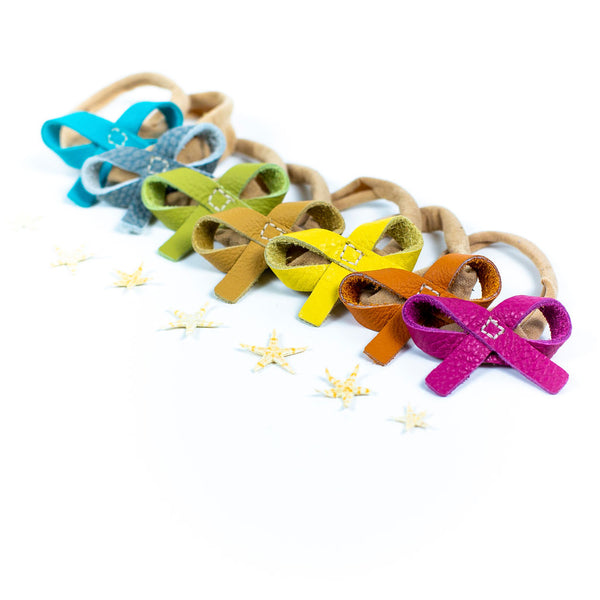 Summer 2021 Colors Ballet Bow Headbands or Clips// Pick Your Color