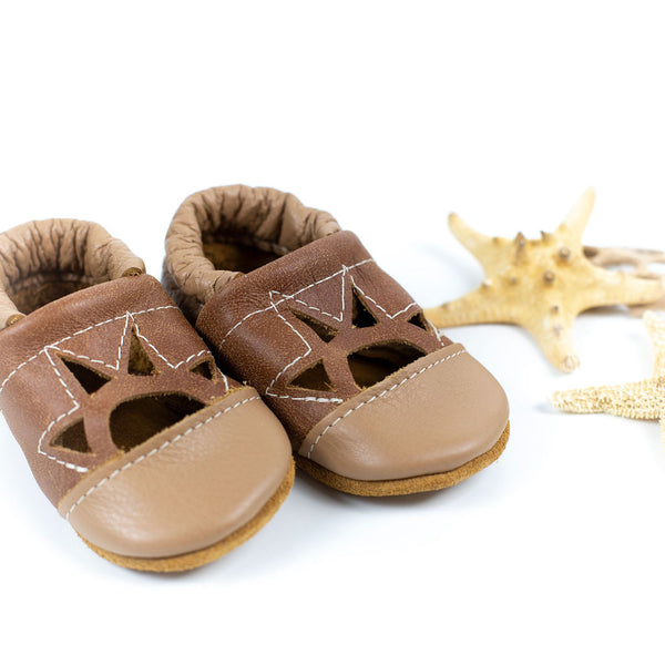 Oat/Tribe Two Tone SUNSET Shoes Baby and Toddler