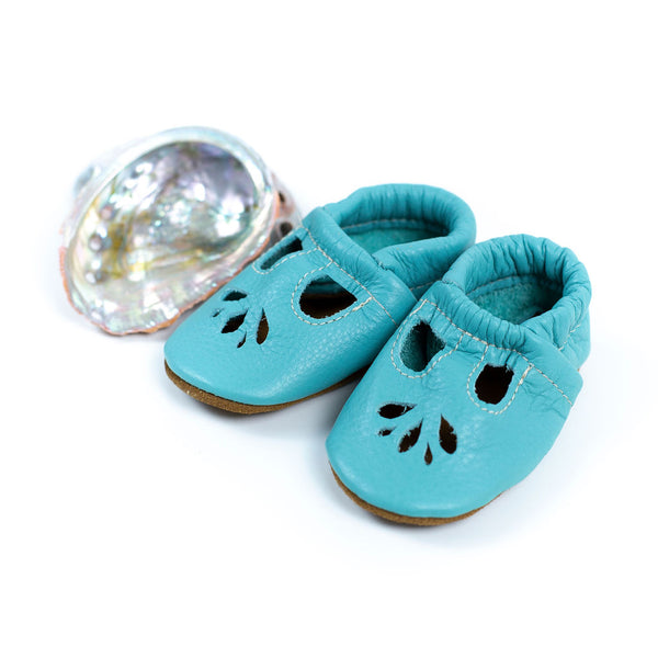 Aqua LOTUS T-strap Shoes Baby and Toddler