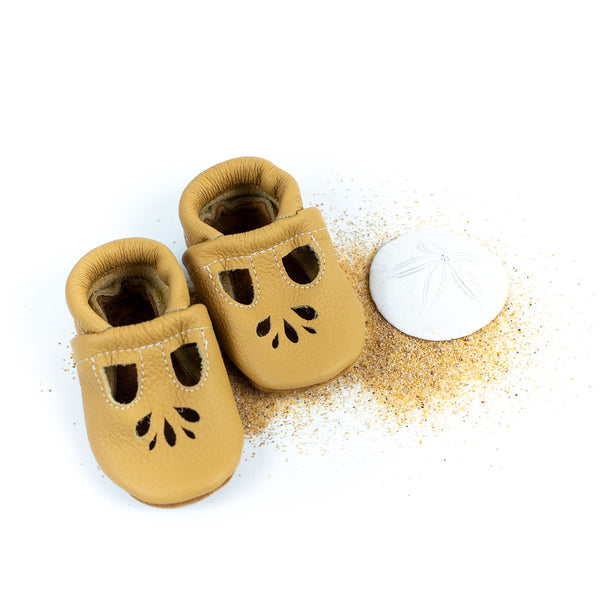 Wheat LOTUS T-strap Shoes Baby and Toddler