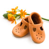 Apricot T-strap Shoes Baby and Toddler