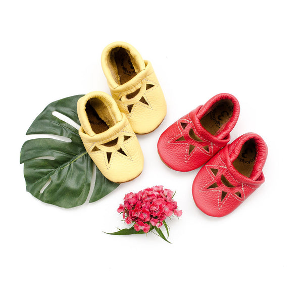 Pineapple & Poppy SUNRISE Shoes Baby and Toddler
