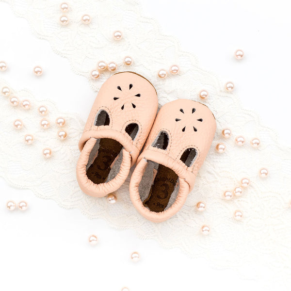 Peach T-Strap Shoes Baby and Toddler