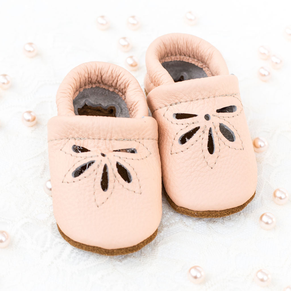 Peach DAISY SANDALS Shoes Baby and Toddler