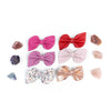 Valentines 2021  Fan Bow Clip// Pick Your Color