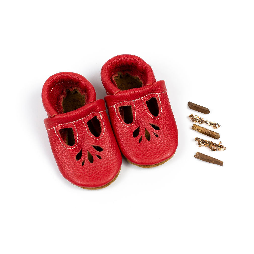 Poppy LOTUS T-strap Shoes Baby and Toddler