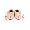 Pink Kitty // Cute Critters Leather Shoes Baby and Toddler