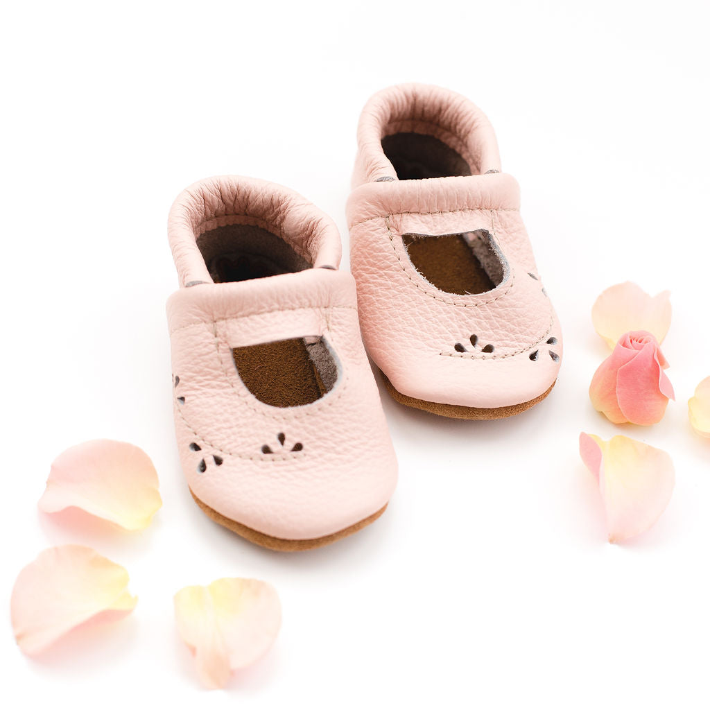 Rose Blush Ivy Janes Shoes Baby and Toddler