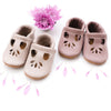 Dusty Rose & Oyster Pink LOTUS T-strap Shoes Baby and Toddler