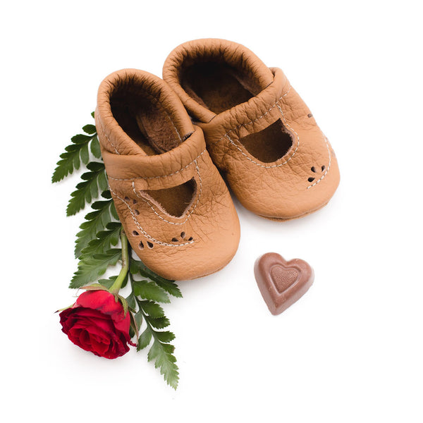 Camel Ivy Janes Shoes Baby and Toddler