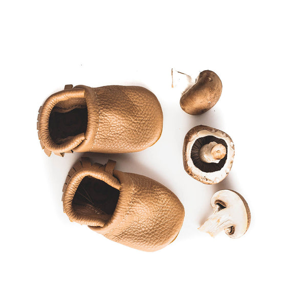Oat Leather Moccs Shoes Baby and Toddler