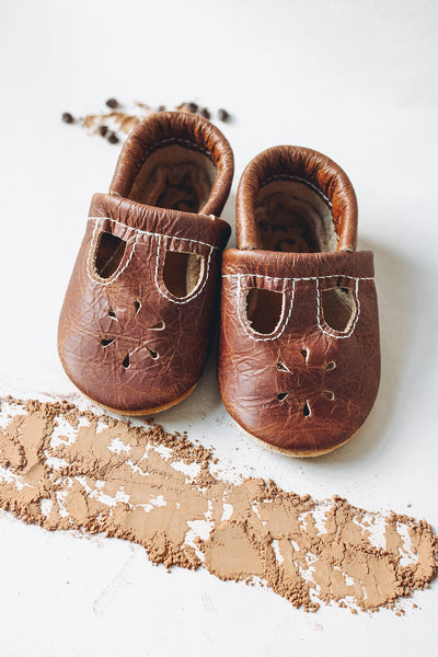 Cocoa T-strap Shoes Baby and Toddler