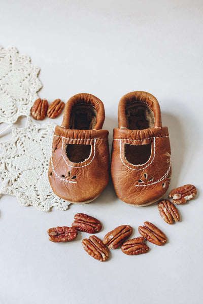 Pecan Ivy Janes Shoes Baby and Toddler