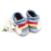 Rainbow on Big Sky Leather Shoes Moccs Baby and Toddler