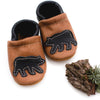 Black Bear Leather Shoes Moccs Baby and Toddler