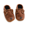 Bear // Cute Critters Leather Shoes Baby and Toddler
