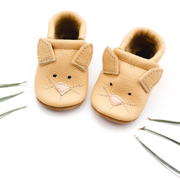 Kitties // Cute Critters Leather Shoes Baby and Toddler Cat Kitty