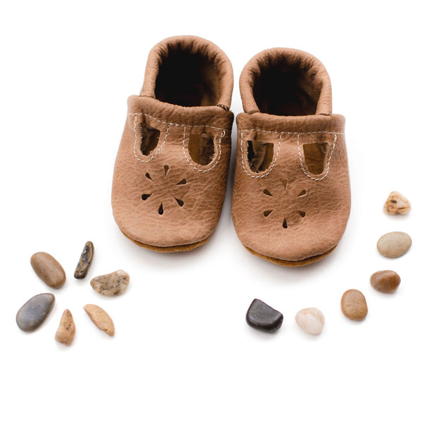 Weathered Wood T-Strap Shoes Baby and Toddler – Starry ...
