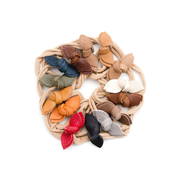 Classic Colors Knotted Bow Headbands// Pick Your Color