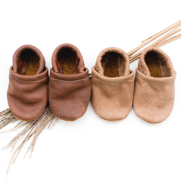 Rust & W. Wood Leather Loafers Shoes Baby and Toddler