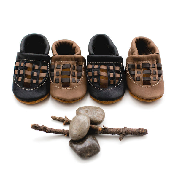 Fossil & Obsidian WOVEN SANDALS Shoes Baby and Toddler