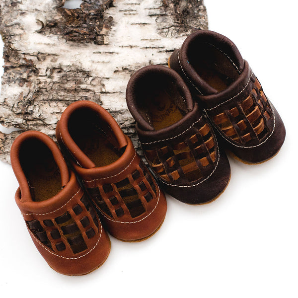 Cedar & Hickory WOVEN SANDALS Shoes Baby and Toddler