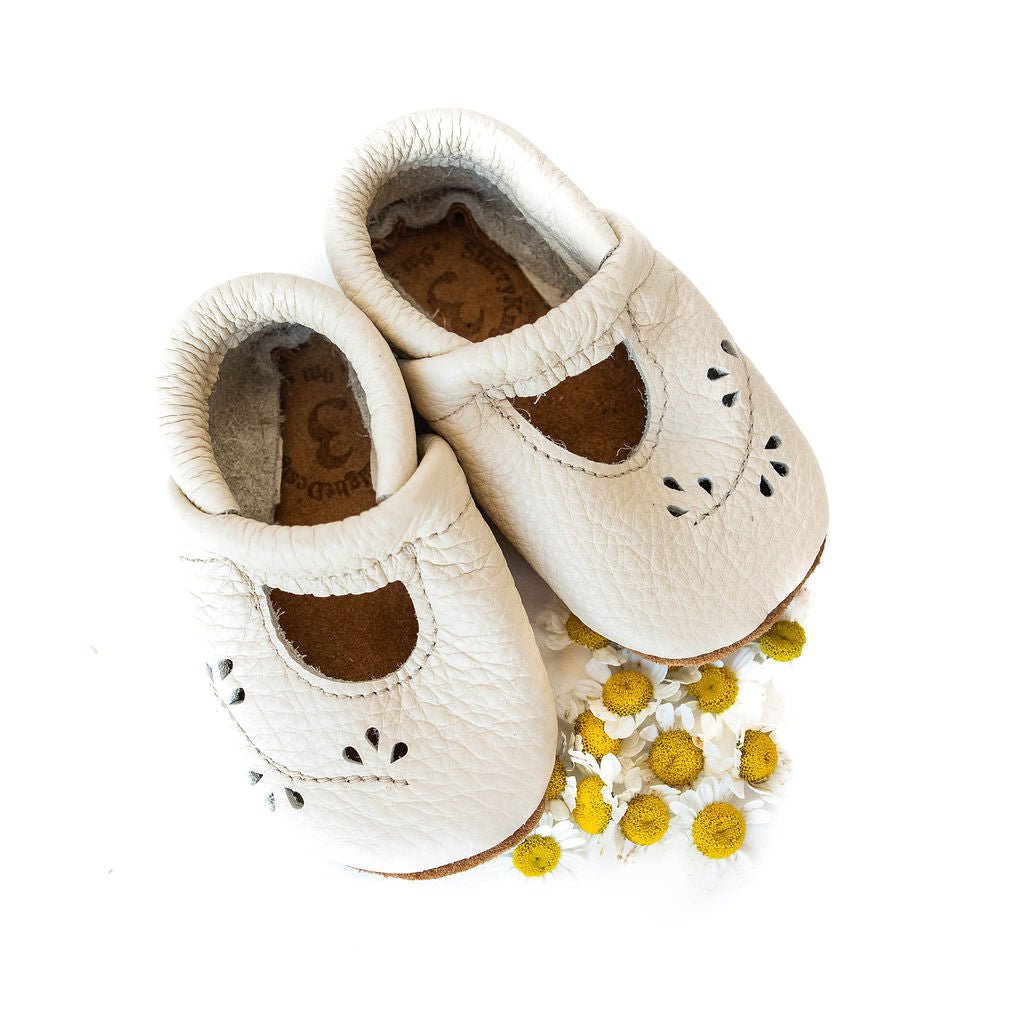 Cream Ivy Janes Shoes Baby and Toddler