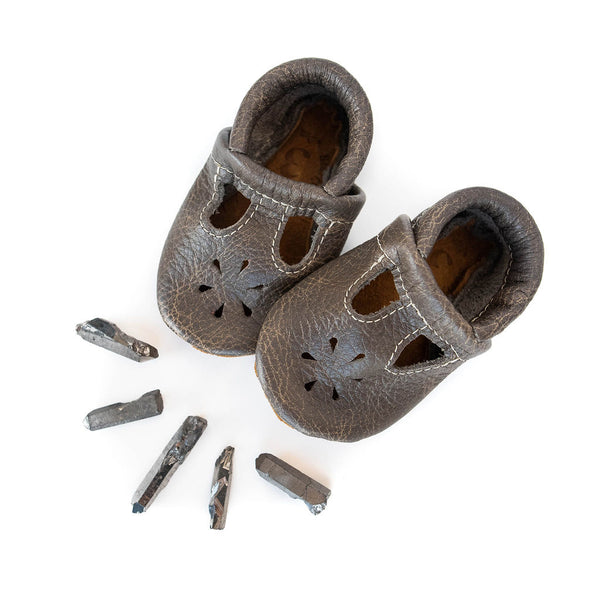 Granite T-Strap Shoes Baby and Toddler