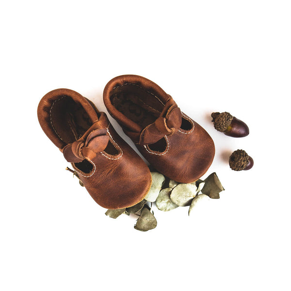 BOW Brandy T-Straps Baby and Toddler