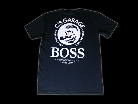 C's Garage Boss Tee - Navy