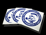 Boss Slap-On Sticker - Blue