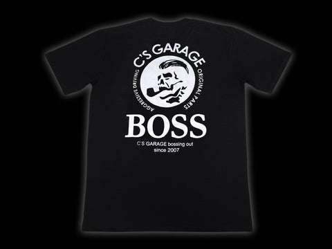 728108d4b C's Garage Boss Tee - Black | C's Garage