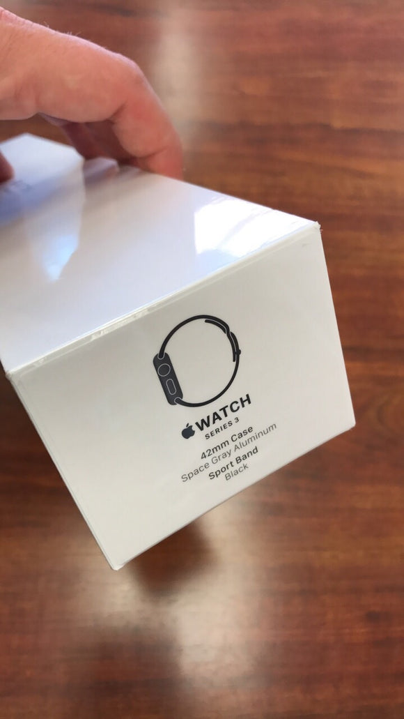 Apple Watch Series 3 GPS not Cellular 42MM Sport Band Black
