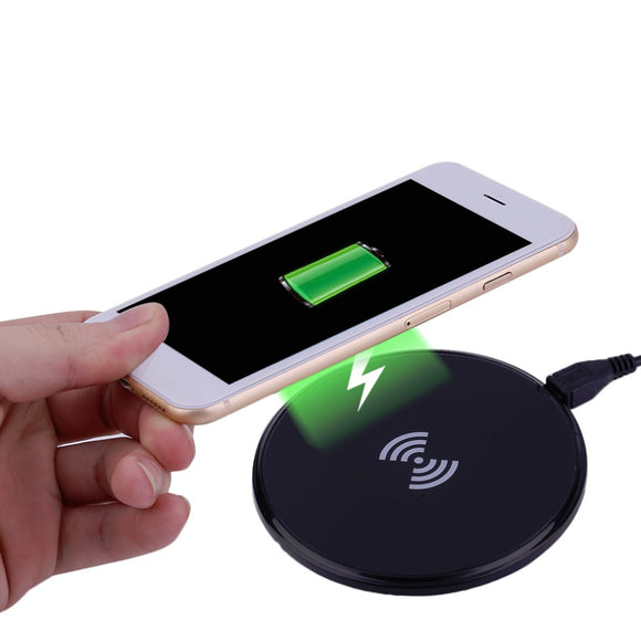 687 Universal Wireless Charger Phone Portable Travel Office Charging Pad Charging Adapter For Iphone For Samsung