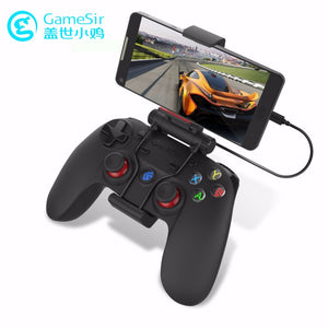 G3w Wired Gamepad Controller For Smartphone Tablet PC With Individual Holder Detachable Bracket Physically Designed Buttons