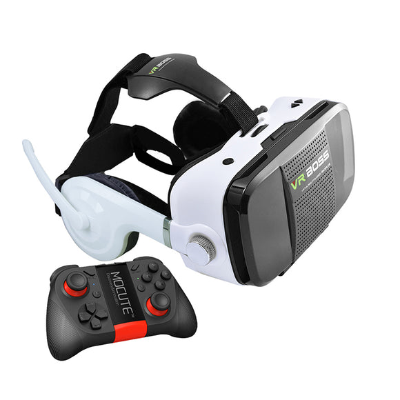 VR BOSS 3D Glasses with headset + microphone 4